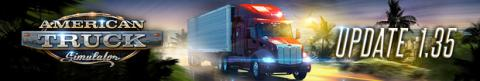 American Truck Simulator Update 1.35 Header