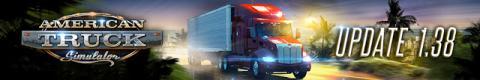 American Truck Simulator Update 1.38 Header