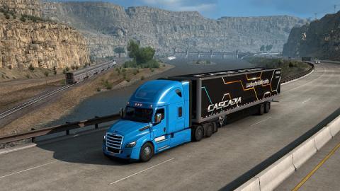 American Truck Simulator Cascadia Screenshot