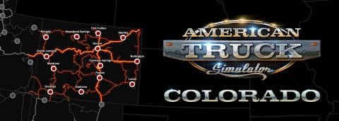 "American Truck Simulator DLC ""Colorado"" Map"
