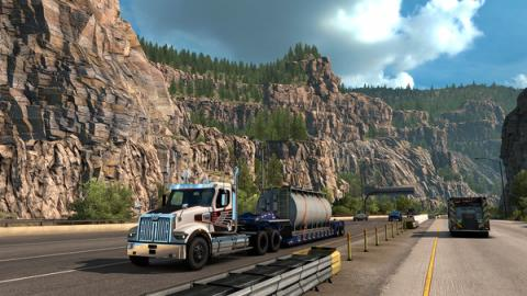 "American Truck Simulator DLC ""Colorado"" Screenshot"