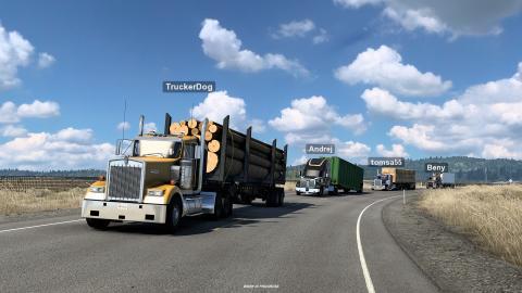 American Truck Simulator Convoy Screenshot