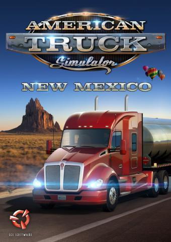 American Truck Simulator: New Mexico DLC Poster