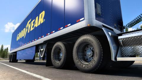 """American Truck Simulator: DLC """"Goodyear Tires Pack"""" Screenshot"""