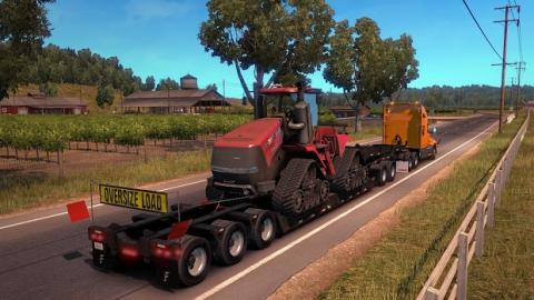 American Truck Simulator Heavy Cargo Screenshot