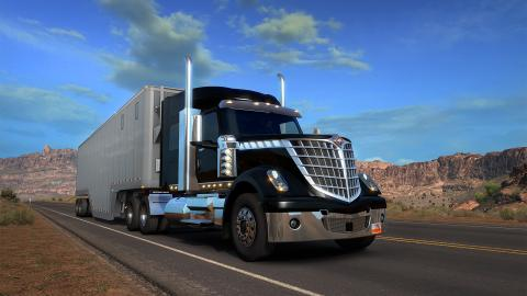 American Truck Simulator Lonestar Screenshot 1