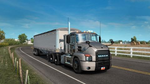 American Truck Simulator The Mack Anthem Screenshot