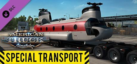 """American Truck Simulator """"Special Transport"""" Header"""