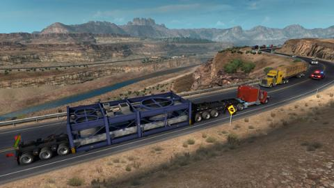 "American Truck Simulator ""Special Transport"" Screenshot"
