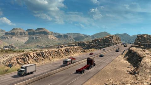 """American Truck Simulator: DLC """"Utah"""" Screenshot"""