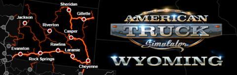 """American Truck Simulator: DLC """"Wyoming"""" Map"""