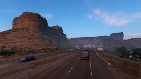 """American Truck Simulator: DLC """"Wyoming"""" Screenshot"""