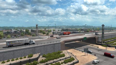American Truck Simulator: New Mexico DLC Screenshot