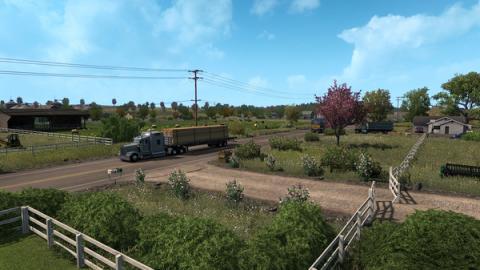 American Truck Simulator: Oregon-DLC Screenshot