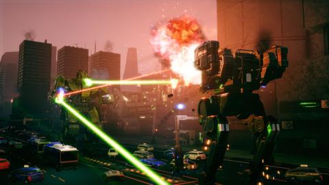 Battletech Urban Warfare Screenshot