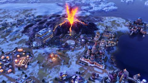 "Civilization VI: DLC ""Gathering Storm"" Screenshot"