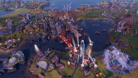 "Civilization VI: ""Great Works and Trade"" Screenshot"