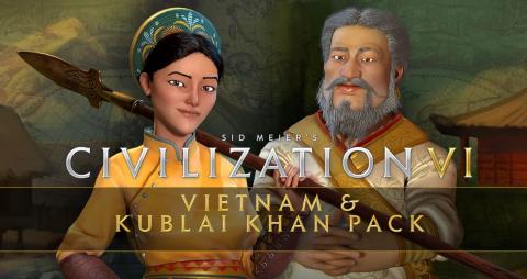 Civilization VI Vietnam & Kublai Khan Pack