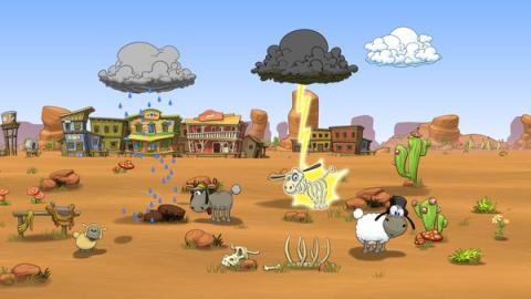 Clouds and Sheep 2 Screenshot