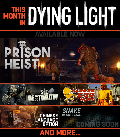 Dying Light Prison Heist Logo