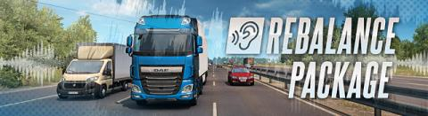 "Euro Truck Simulator 2: ""Sounds Rebalance Package"" Header"