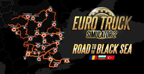 ETS2 Road to the Black Sea Cities