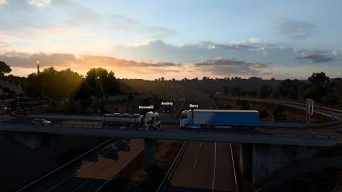Euro Truck Simulator 2 Convoy Screenshot