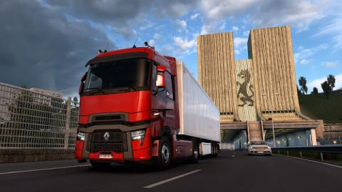 Euro Truck Simulator 2 Renault Trucks T & T High: Evolution