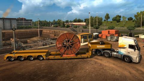 Euro Truck Simulator 2 Heavy Cargo Screenshot 1
