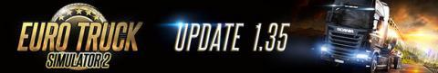 Euro Truck Simulator 2 Update 1.35 Header