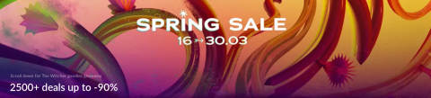 GOG Spring Sale 2020 Header