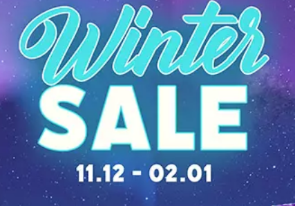 GOG: Winter Sale 2019 Header