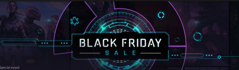 GOG Black Friday Sale Header