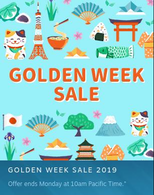 Steam: Golden Week Sale 2019 EN