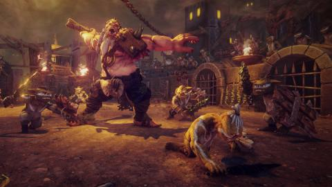 "Hand of Fate 2 DLC ""The Servant and the Beast"" Screenshot"