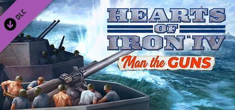 Hearts of Iron IV Man of the Guns Header