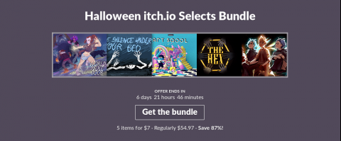 itch.io Halloween Sale 2019