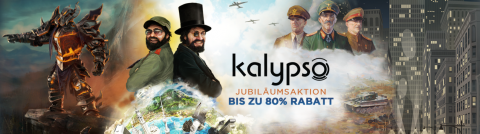Kalypso Sale auf Steam