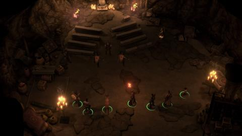 Pathfinder: Kingmaker - Varnhold's Lot Screenshot