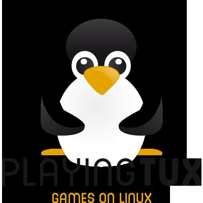 Playing Tux Logo