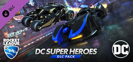 Rocket League DC Super Heroes Header