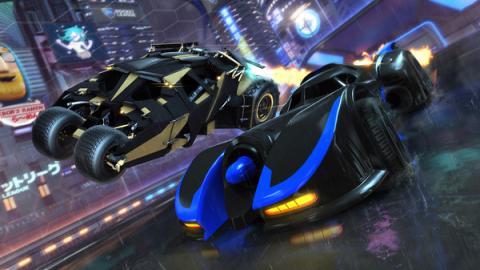 Rocket League DC Super Heroes Screenshot