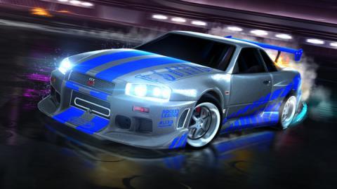 Rocket League Fast & Furious DLC 1