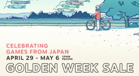 Steam Golden Week Sale 2021 Header