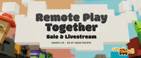 Steam Remote Play Together Sale Header