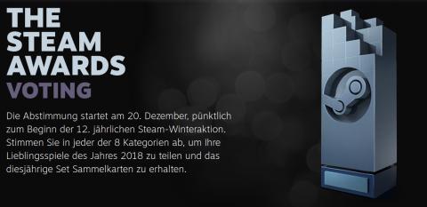 Steam Awards 2018 Header