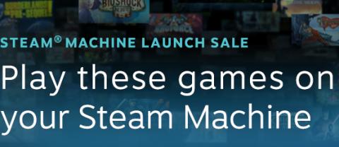Steam Machines Launch Sale