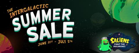 Steam Summer Sale 2018 Logo English