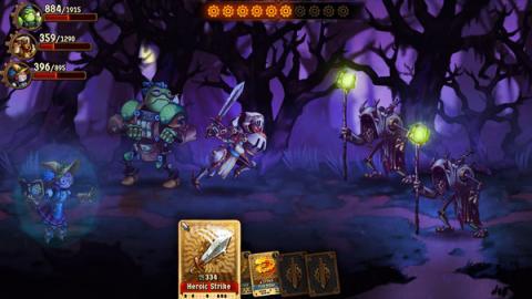 SteamWorld Quest: Hand of Gilgamech Screenshot