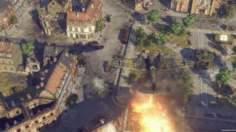 Sudden Strike 4 Road to Dunkirk Screenshot